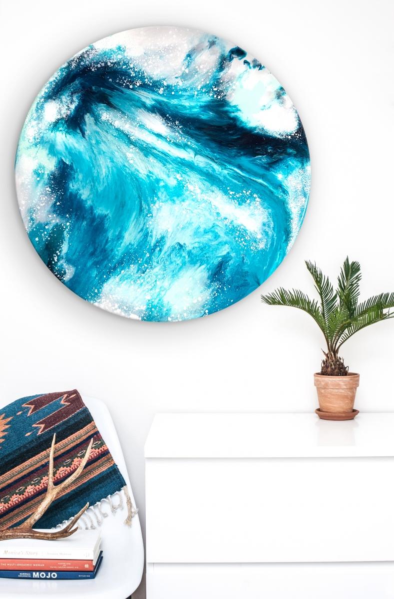Ocean and Earth III, 2018